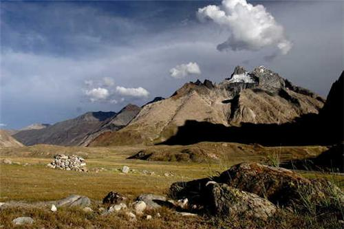 Shagma Karphu Village in Leh