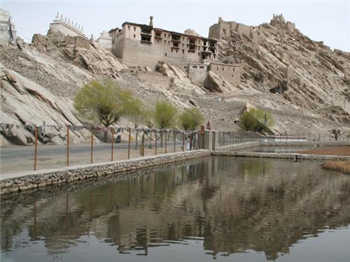 Around the Shey Monastery