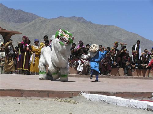 Sindhu Darshan Festival in Leh