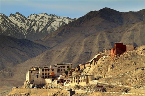 Spituk Monastery in Leh