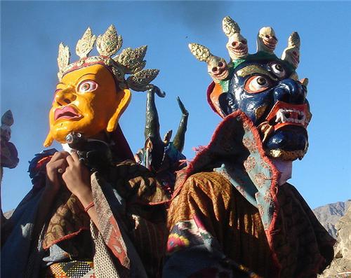 Mask Dance of Thiksey Gustor Festival