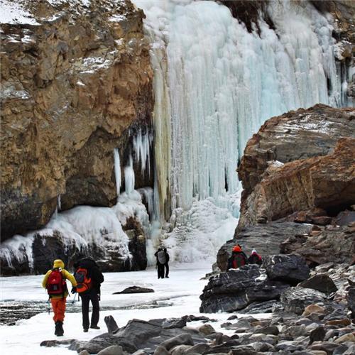 Trekking in Zanskar Valley