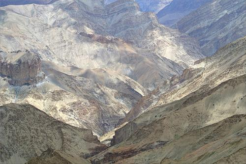 Mountains in Zanskar Valley