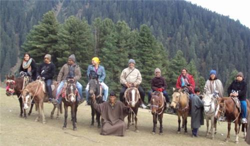 Pahalgam Horse Riding