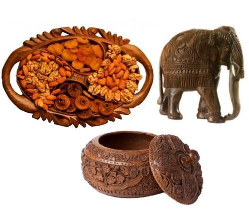 Wood Carving Pahalgam