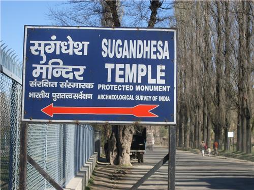 Way to Sugandhesha Temple