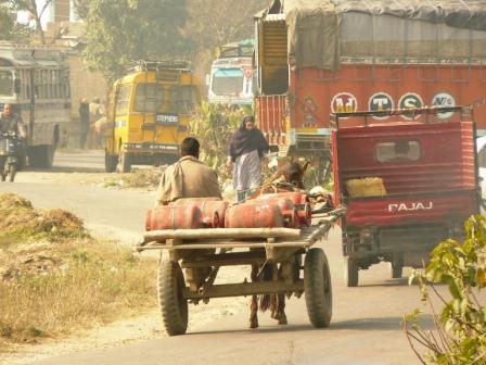 Roads in Ranbir Singh Pora
