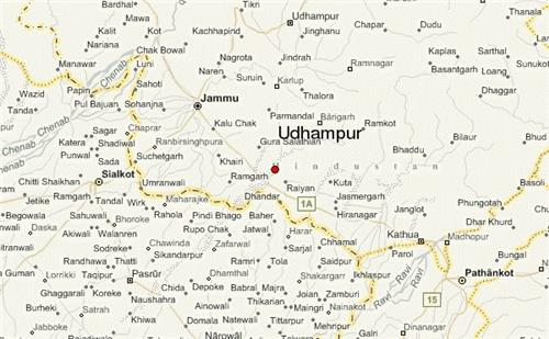 Geographical Situation of Udhampur in Jammu and Kashmir