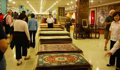 Carpets on Dispaly at Gulmarg