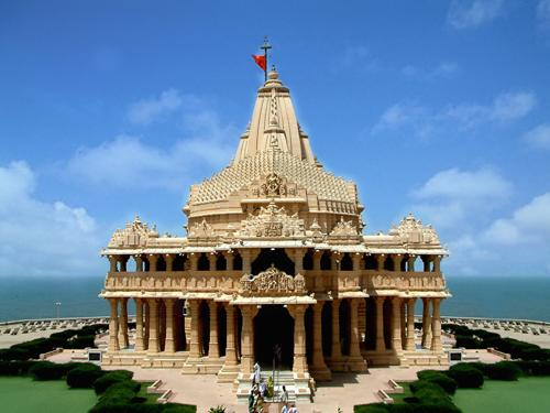 Somnath Temple in Junagadh