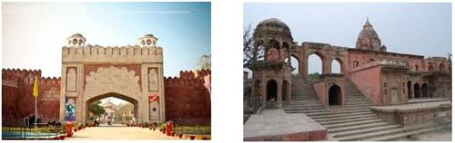 Bithoor Fort in Kanpur Location