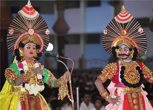 Folk theatres in Karnataka