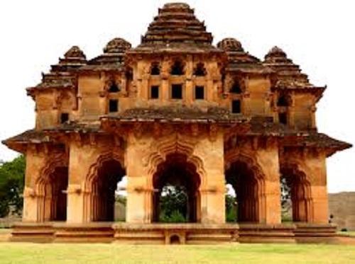 Lotus Mahal in Hospet