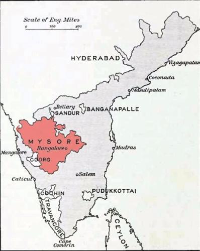 Mysore in 1956