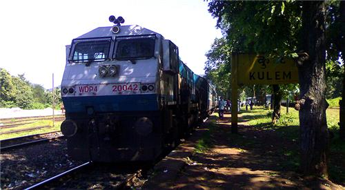 Trains from Tumkur