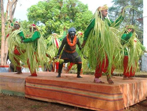 Kangilu dance form in Udupi