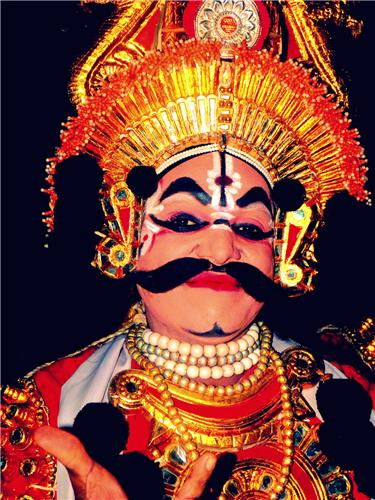 Yakshagana Puppet Show in Uppinakudru