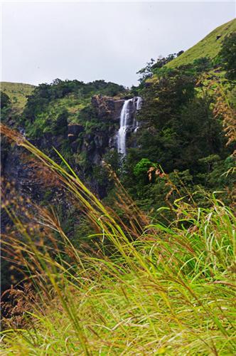 Arbi Falls near Udupi