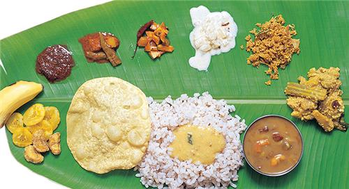 Vegetarian cuisines of Kerala