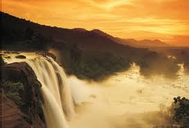 Athirapally Waterfalls in Chalakudy