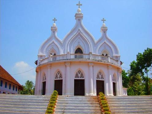 St Mary's Cathedral in Changanassery