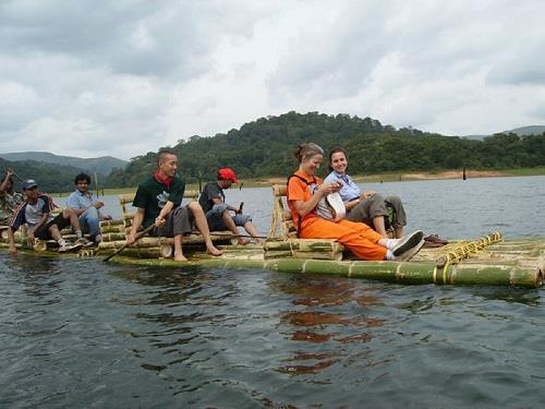 Periyar National Park and Wildlife Sanctuary Bamboo Rafting