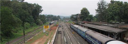 Punalur Railway Station in Punalur