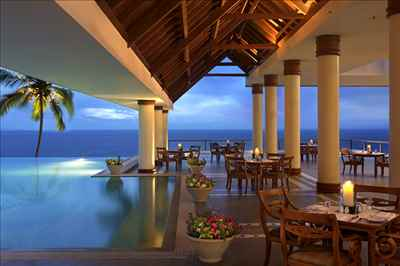The Leela Kovalam- Infinity Pool
