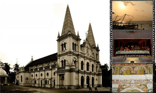 Santa Cruz Cathedral Basilica Kochi Address