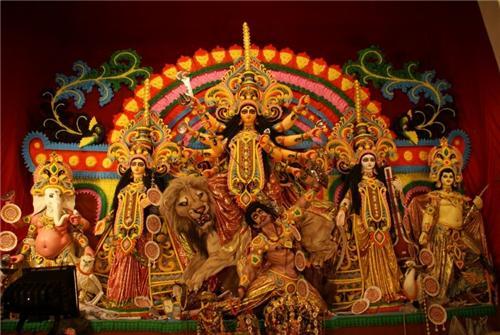 Durga puja parks in Kolkata