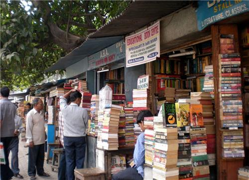 Book stalls in Kolkata