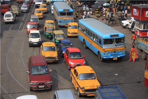 Public Transportation in Kolkata