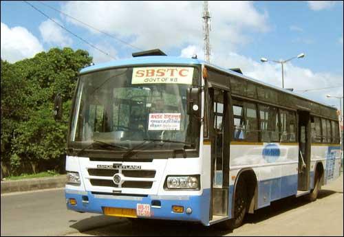 Bus in Kolkata