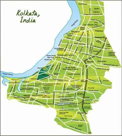Geography of Kolkata