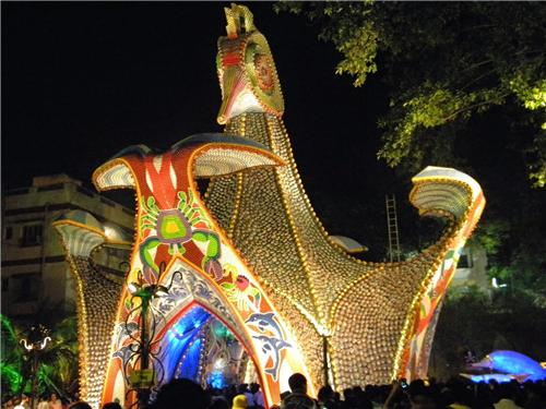 Theme pandals in Kolkata