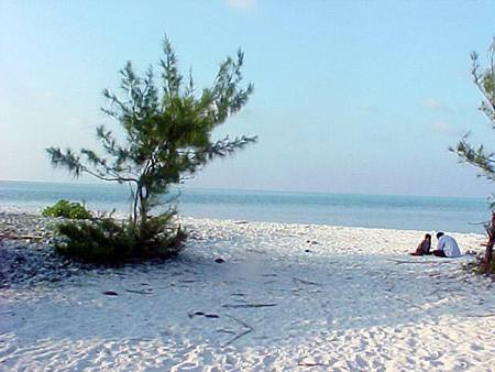 White Sandy beaches in Minicoy Lakshadweep