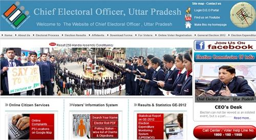 Apply online for voter ID in Lucknow