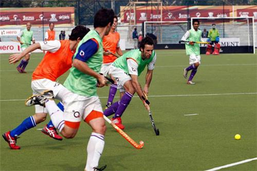 Dhyan Chand Hockey Stadium in Lucknow