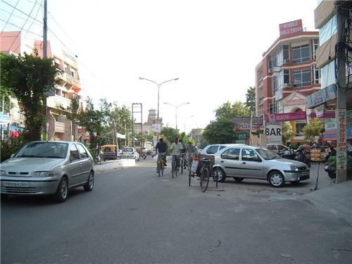 Ghumar Mandi in Ludhiana City