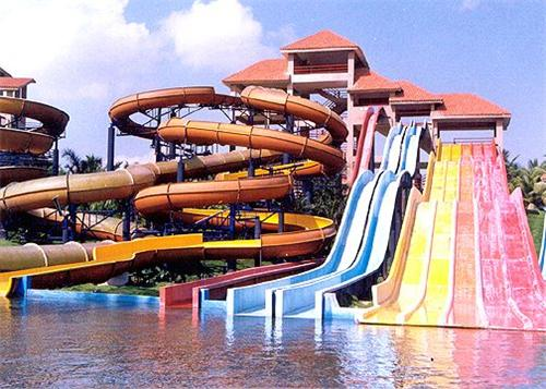 Queensland Chennai Theme Park Athisayam Water...
