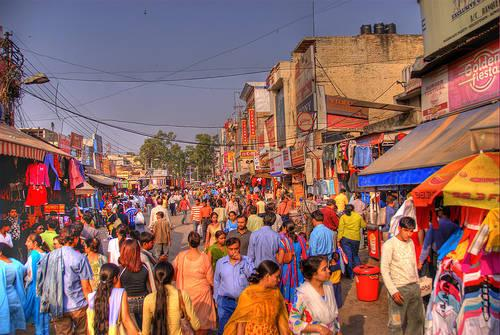 Shopping in Beed