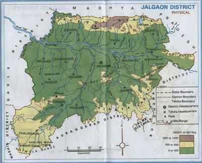 Geography of Jalgaon