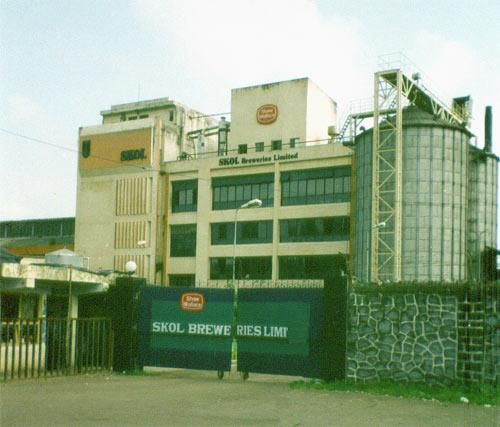 Skols Brewery in Uran