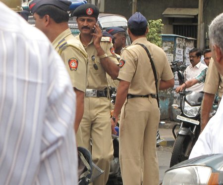 Uran Police in Duty