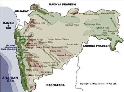 Land Features of Maharashtra