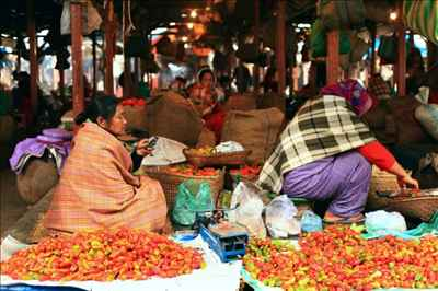 Markets in Imphal