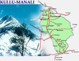 Manali Route Map
