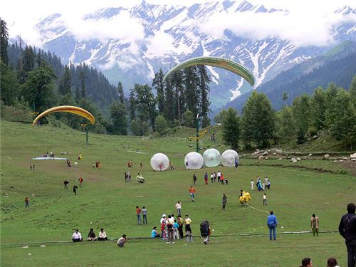 Adventure Sports inside Manali