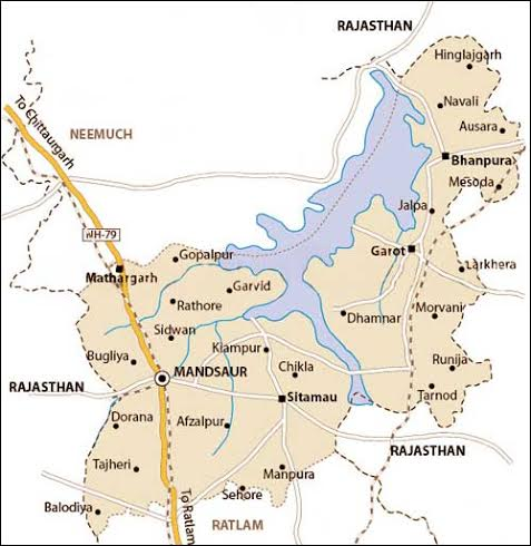 Geography of Mandsaur