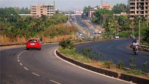 National Highway in Mangalore